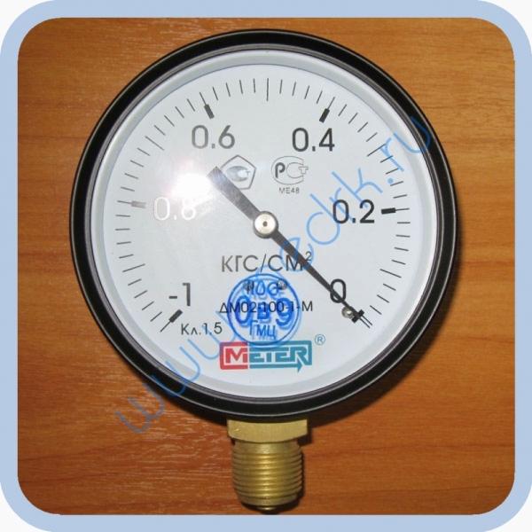 Манометр ДМ02-100-1,5 (-1..0 кгс/см2)  Вид 1