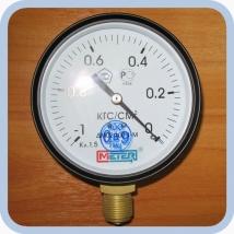 Манометр ДМ02-100-1,5 (-1..0 кгс/см2)