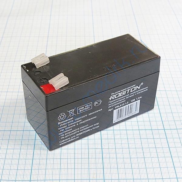 Аккумулятор для ЭКГ Schiller AT1/101 AN-12-1,3 1300 12 В Pb  Вид 1