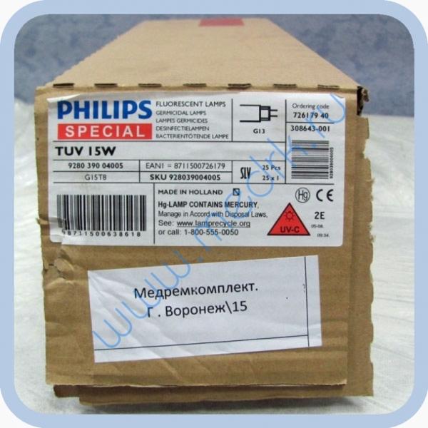 Лампа бактерицидная Philips TUV 15W G13  Вид 5