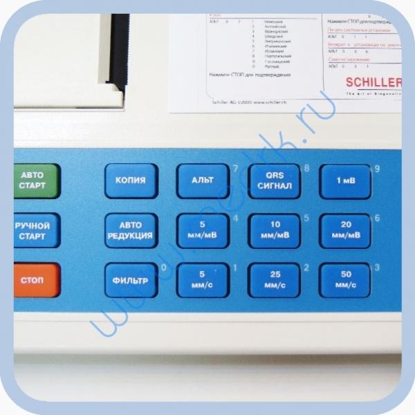 Электрокардиограф SCHILLER CARDIOVIT AT-1  Вид 3
