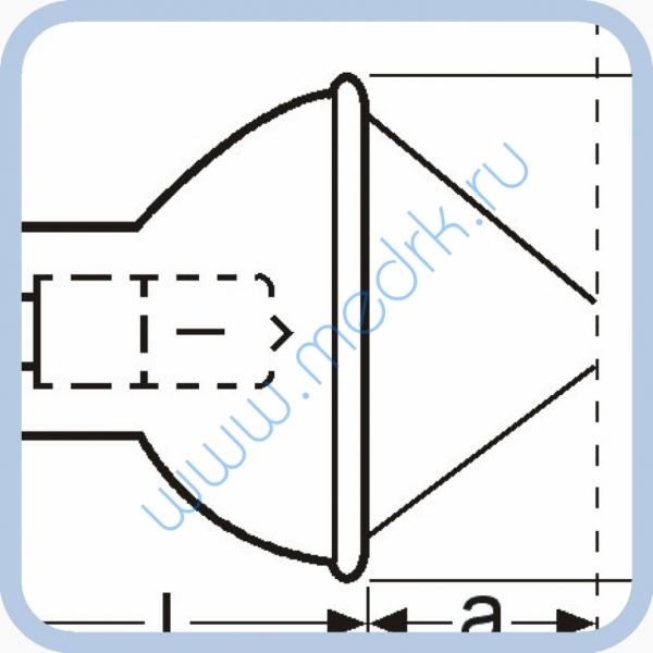 Лампа галогенная (галогеновая) Osram HLX 64653 24V 250W GX5,3  Вид 8