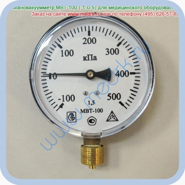 Мановакуумметр МВТ-100 (-1-0-5)  Вид 1