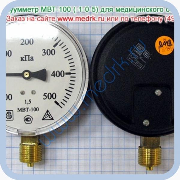 Мановакуумметр МВТ-100 (-1-0-5)  Вид 2