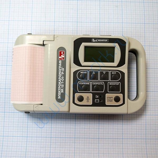 Электрокардиограф ЭК12 Т-01-Р-Д (с монохромным монитором 63 мм по диагонали) D0200  Вид 4