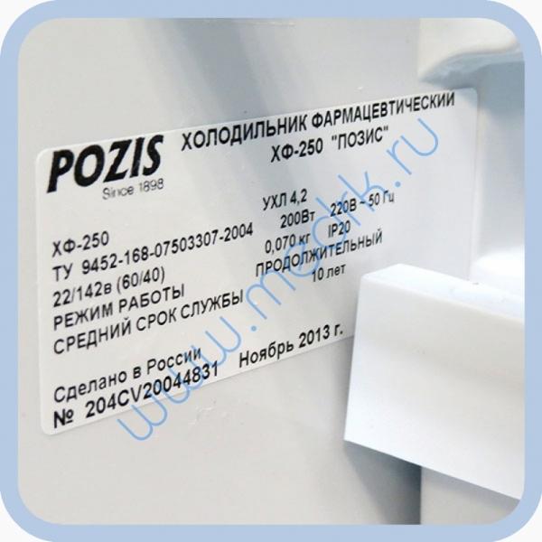 Холодильник фармацевтический Позис ХФ-250-2   Вид 15