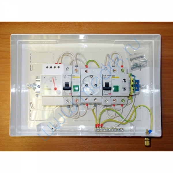 Щиток электрический ЩС Оптима-В с вольтметром  Вид 2