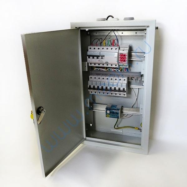Щит электрический 3-х фазный с вольтметром  Вид 2