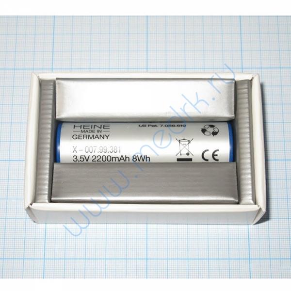 Аккумулятор Li-ion Heine X-007.99.381  Вид 3