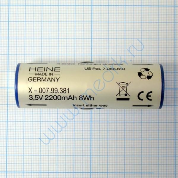 Аккумулятор Li-ion Heine X-007.99.381  Вид 4
