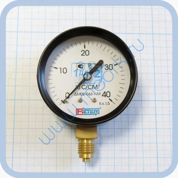 Манометр ДМ02-063-1-М кл. 1.5 (0..40 кгс/см2)  Вид 2