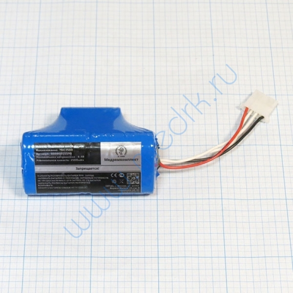 Батарея аккумуляторная 7D-C2500 для ЭКГ Heart Screen-112D (МРК)  Вид 1