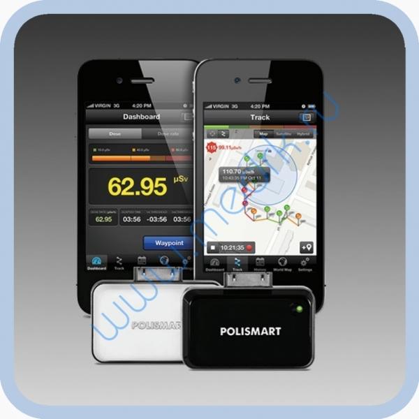 Сигнализатор-индикатор гамма-излучения POLISMART II PM1904 для iPhone 4  Вид 3