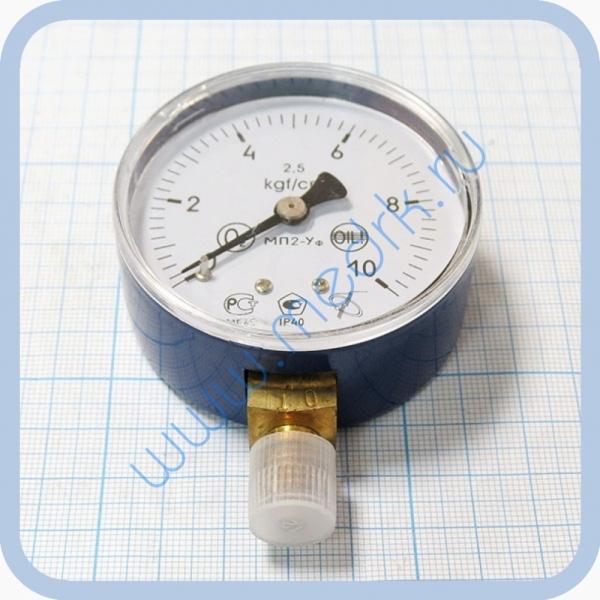 Манометр МП2-УФ х10 (У2) кислород  Вид 1