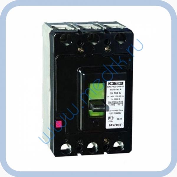 Выключатель ВА57-35-340010-20 УХЛ3Б, 100А, для ДЭ-60, ГП-400  Вид 1