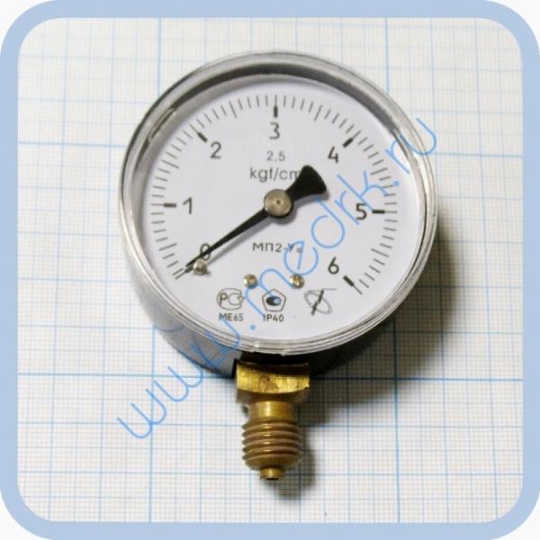 Манометр МП2 УФ х 6 кгс/см2  Вид 7