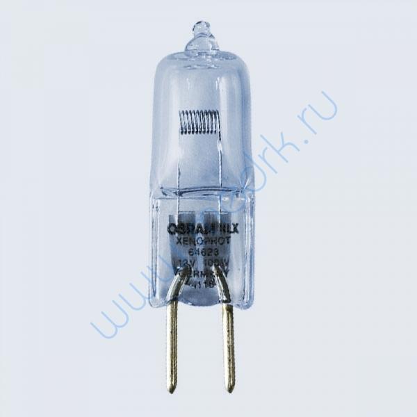 Лампа галогенная Osram 64623 HLX EVA 12V 100W M/28 GY6,35