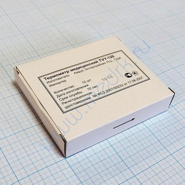Термометр ртутный медицинский TVY-120  Вид 1