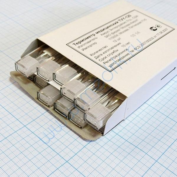Термометр ртутный медицинский TVY-120  Вид 2