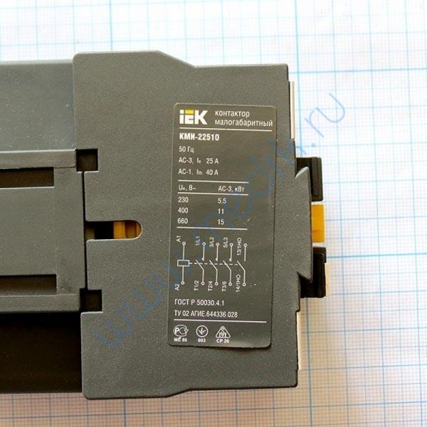 Контактор КМИ-22510 25А 230В/АС-3 1НО ИЭК   Вид 7