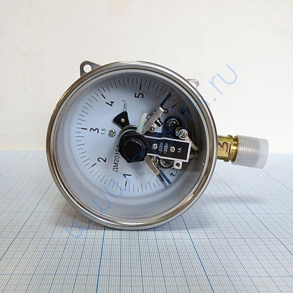 Манометр сигнализирующий ДМ2010ф СгуЗ (0-6) кгс/см2  Вид 4