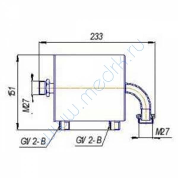 Конденсатор ВК754.02.000 для ВП 01/75  Вид 6