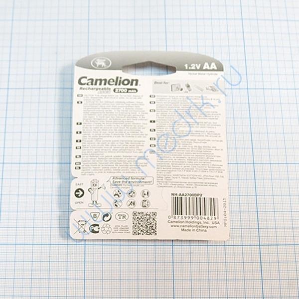 Аккумулятор CAMELION NI-MH R6 2700 mAh BP-2 (2 шт.)   Вид 2