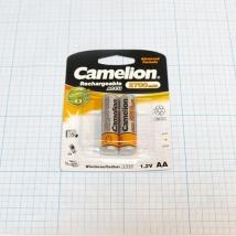 Аккумулятор CAMELION NI-MH R6 2700 mAh BP-2 (2 шт.)