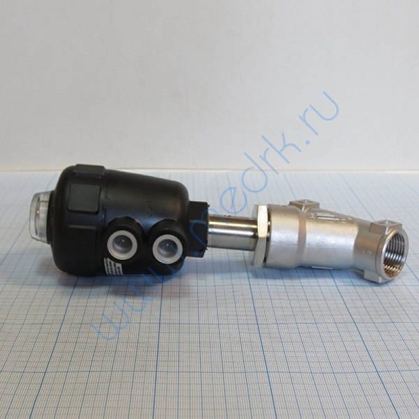 Клапан угловой 2000-А-2-20.0-EE-VA-GM85-C-D 001422N   Вид 2