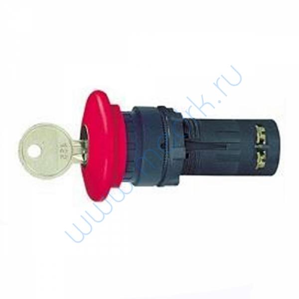 Ключ аварийного останова 22 мм красный XB7ES145P  Вид 1