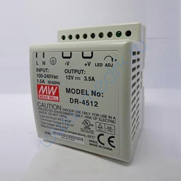 Источник питания MW DR - 4512 45Ц 12М 3.5A на дин-рейку   Вид 1