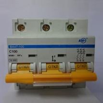 Выключатель автоматический ИЭК ВА47-100 100А 380В