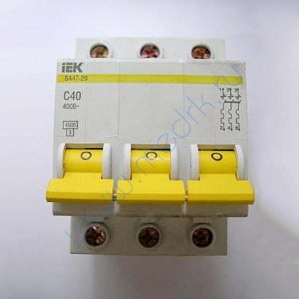 Выключатель IEK ВА 47-29, С40, 400В характеристика С  Вид 1