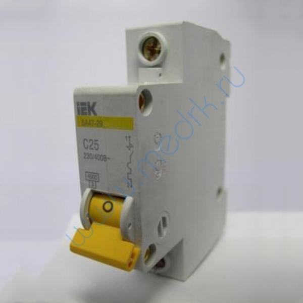 Выключатель автоматический IEK ВА 47-29 1Р 5А C25 230/400B  Вид 1