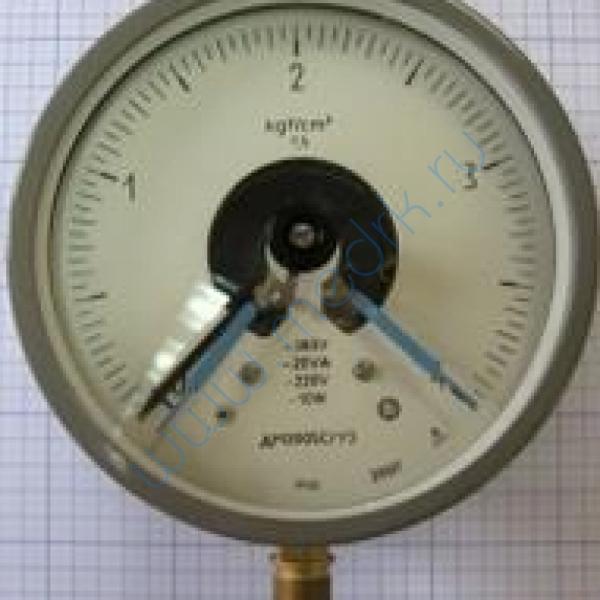 Манометр электроконтактный ДМ-2005 СГ У3-0.6   Вид 1