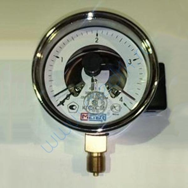 Манометр ДМ 02-V-100-1-M-4 КГС/СМ-1,5 электроконтактный   Вид 1