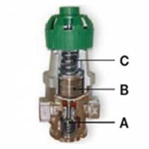 Клапан редукционный RE1 Rc3/4, 16 bar