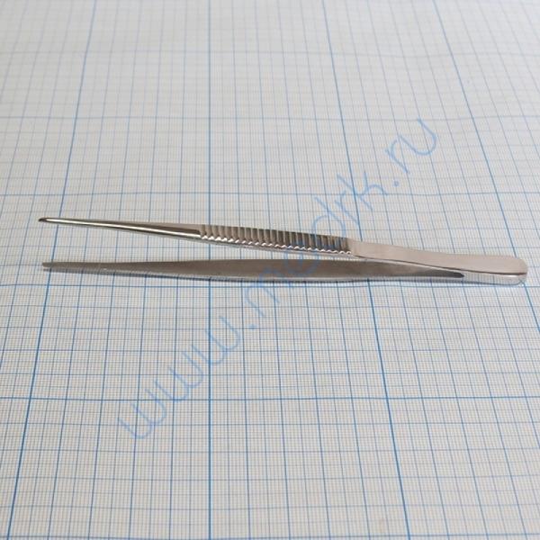 Пинцет анатомический 150х1,5 мм П-59п  Вид 4