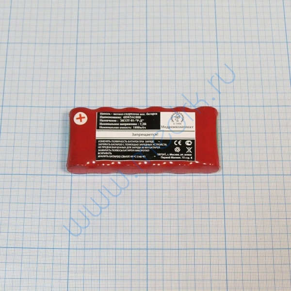Батарея аккумуляторная 6H-4/5A1800 (МРК)  Вид 1