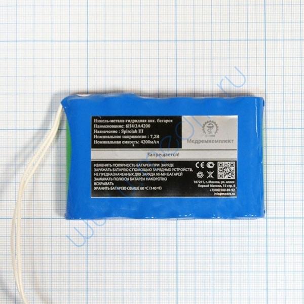Батарея аккумуляторная 6H-4/3A4200 (МРК)  Вид 2