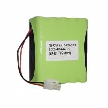 Батарея аккумуляторная 20D-4/5AA700 для ЭКГ DELTA-1 PLUS (МРК)