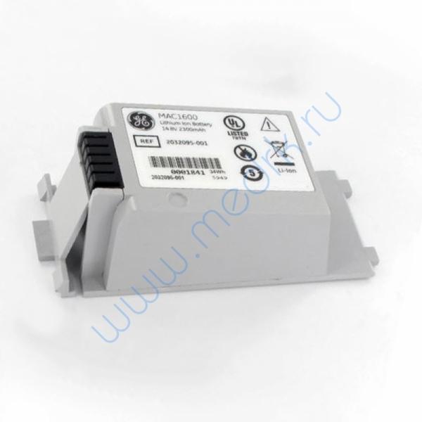 Аккумулятор для электрокардиографа MAC 1600 2035701-001  Вид 1