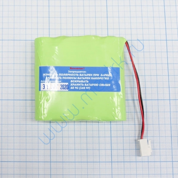 Аккумуляторная батарея для ЭКГ Schiller Cardiovit AT102 +, MS-2007, MS-2010, MS-2015  Вид 3