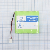 Аккумуляторная батарея для ЭКГ Schiller Cardiovit AT102 +, MS-2007, MS-2010, MS-2015