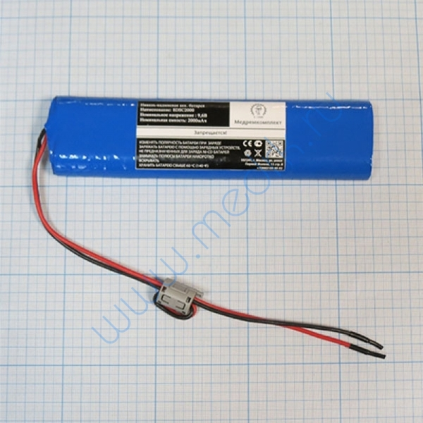 Батарея аккумуляторная 8D-SC2000 для Fukuda Cardisuny C100 без разъема (МРК)  Вид 1