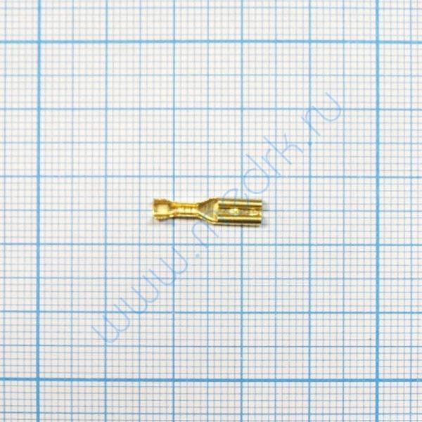 Клемма изолированная плоская 2,8 мм  Вид 1