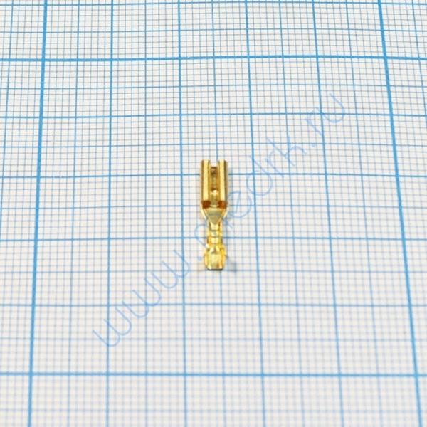 Клемма изолированная плоская 2,8 мм  Вид 3