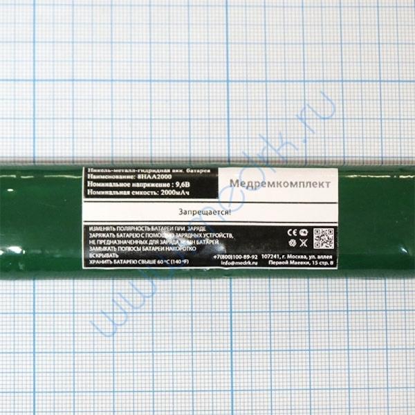 Батарея аккумуляторная 8H-AA2000 NiMH 9,6 В 2000 мАч (МРК)  Вид 2
