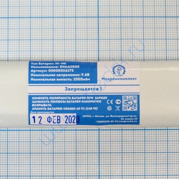 Батарея аккумуляторная 8H-AA2000 NiMH 9,6 В 2000 мАч (МРК)  Вид 8