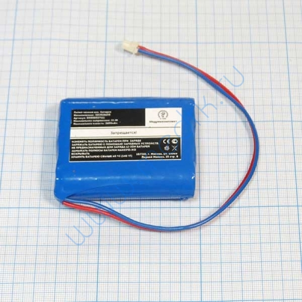 Батарея аккумуляторная 3ICR18650 для Bionet BM3, BM3 plus (МРК)  Вид 1